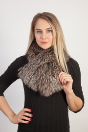 Ladies Winter Real Fox Fur Scarf Stole Shawl Muffler