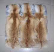 Real Red Fox Fur Pillow Covers Couch Sofa Cushion Covers